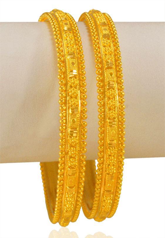 acaf8f86b 22 Karat Gold Bangles - BaGo23419 - [Bangles > Gold Bangles]