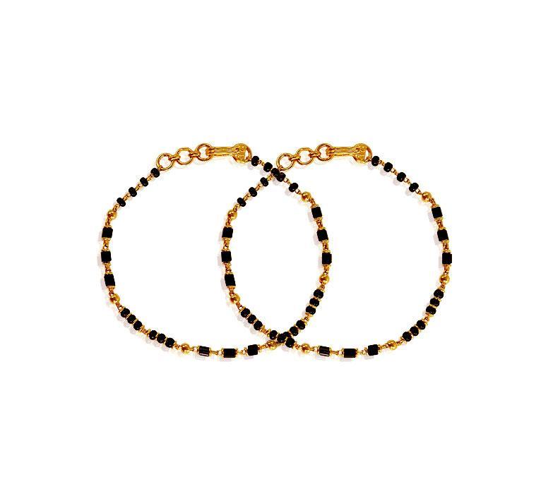 22k Black Beads Kids Mania Bjbb19582 Baby Jewelry