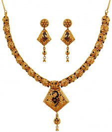 Peacock Collection Meena Jewelers Online Indian Gold Jewelry 22
